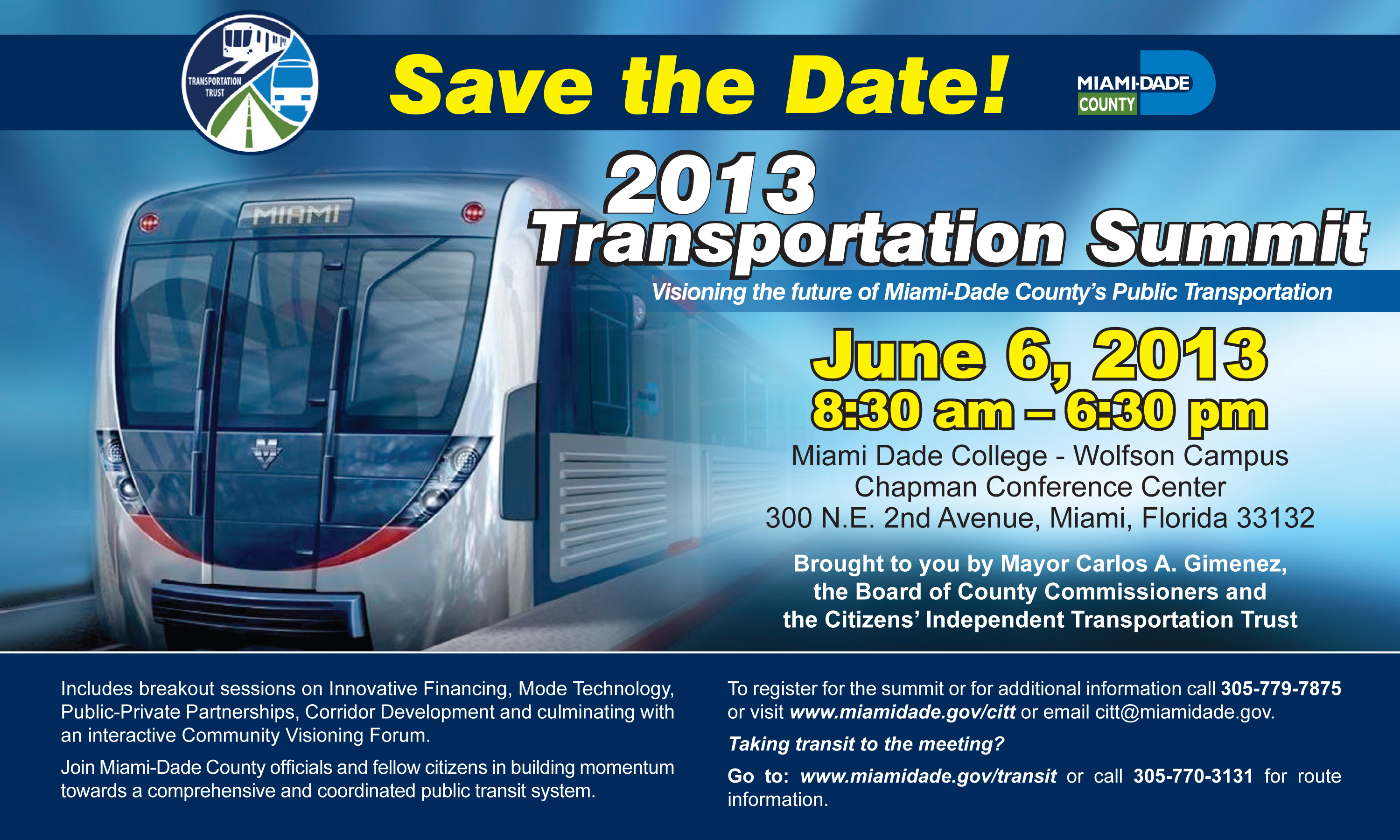 CITT_Transportation Summit 2013_Ad_10X6_ENG